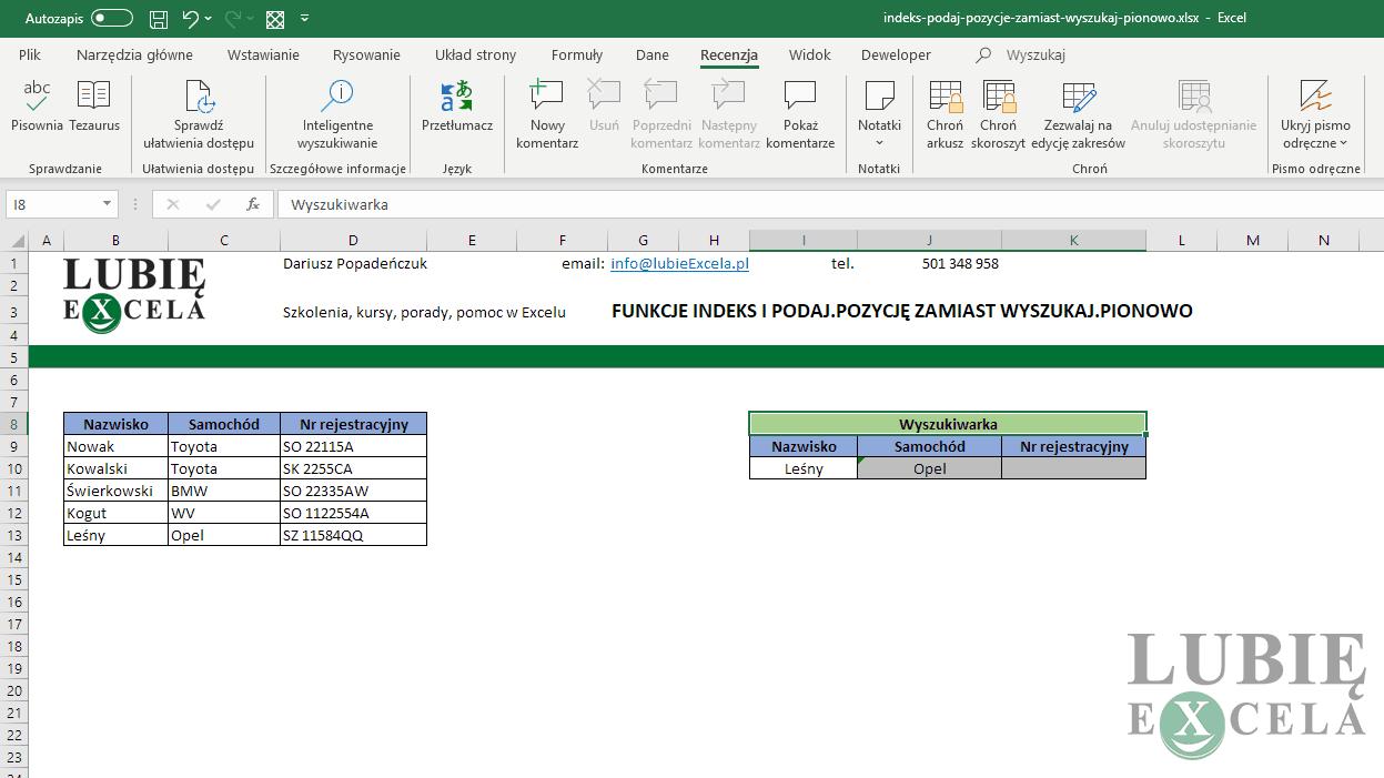 Indeks I Podajpozycję Dobre Połączenie Do Wyszukiwania