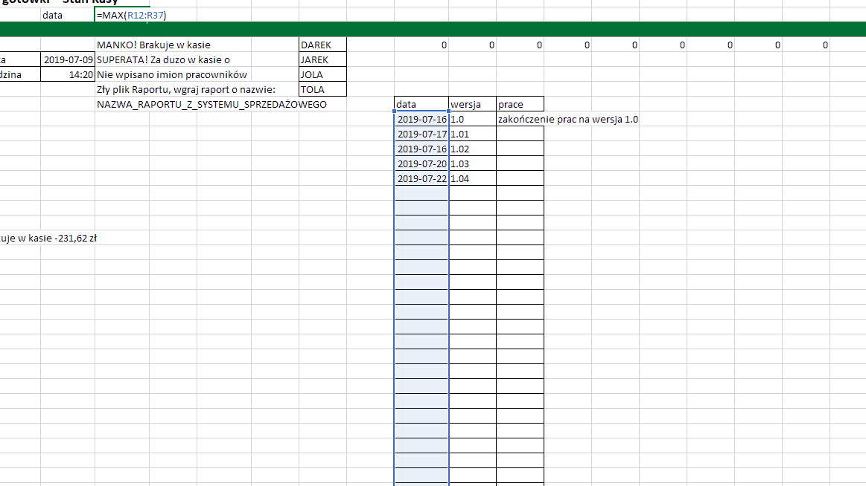 Excel - funkcja MAX