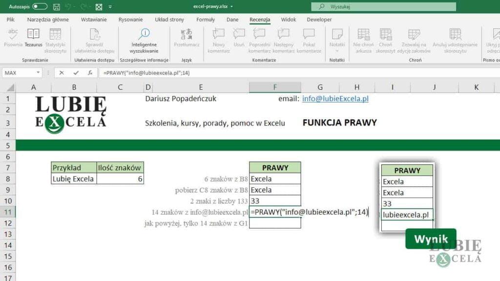 PRAWY - pobór adresu email